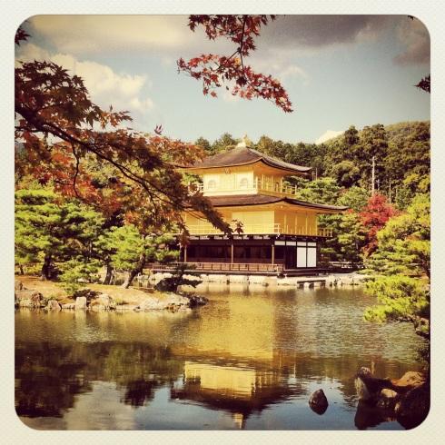Kinkaku-ji Pabellón dorado (Kyoto)